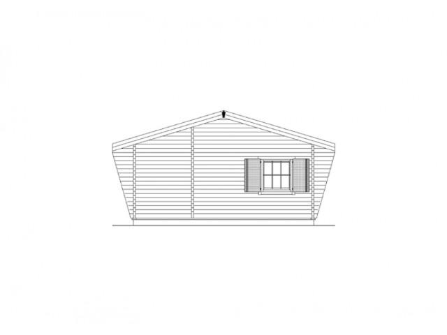Blockhaus Bestensee - Außenansicht 4