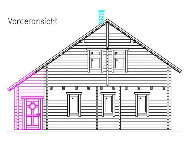 Blockhaus Bonn - Außenansicht 3
