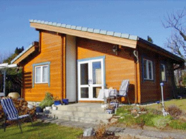 Holz Gartenhaus in Fertigbauweise