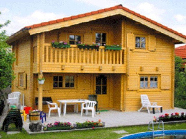 Blockhaus Cambal - Außenansicht 1