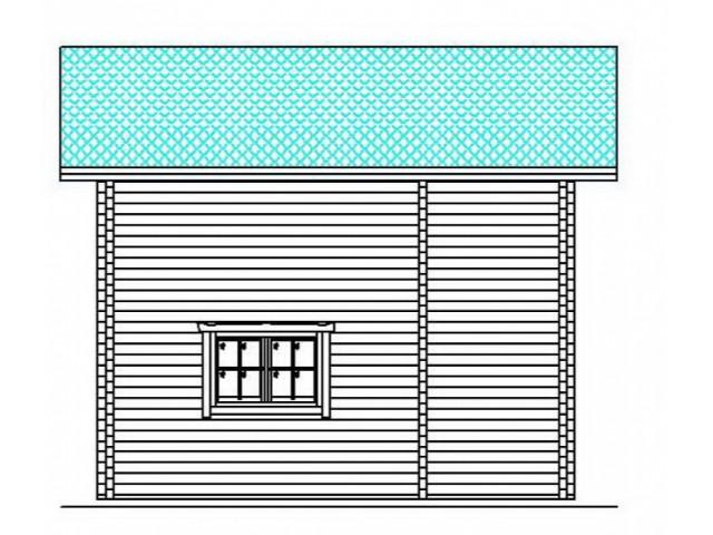 Blockhaus Cambal - Außenansicht 4