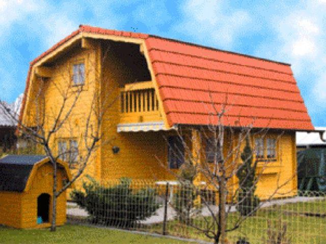 Blockhaus Erlenau - Außenansicht 1