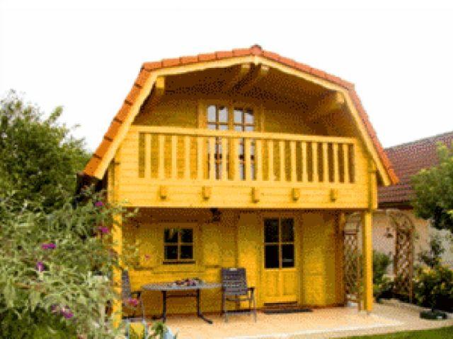 Blockhaus Hanau - Außenansicht 1
