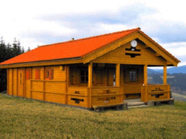 Blockhaus Meißen - Außenansicht 1