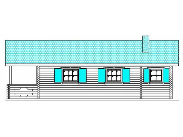 Blockhaus Meißen - Außenansicht 3