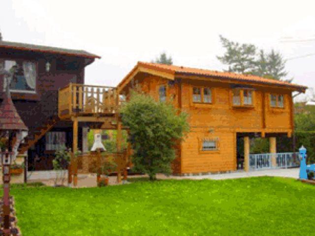 Blockhaus Mikula - Außenansicht 1