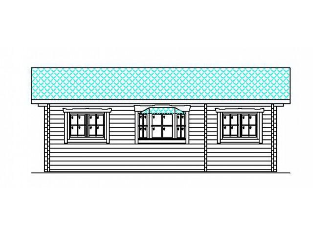 Blockhaus Mikula - Außenansicht 3