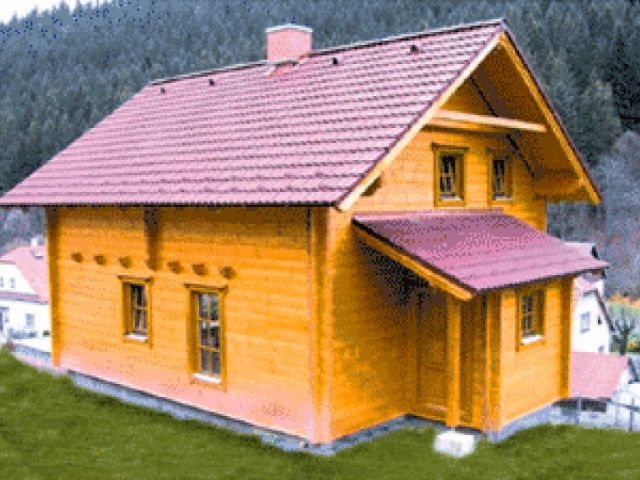 Blockhaus Neuenhagen - Außenansicht 1