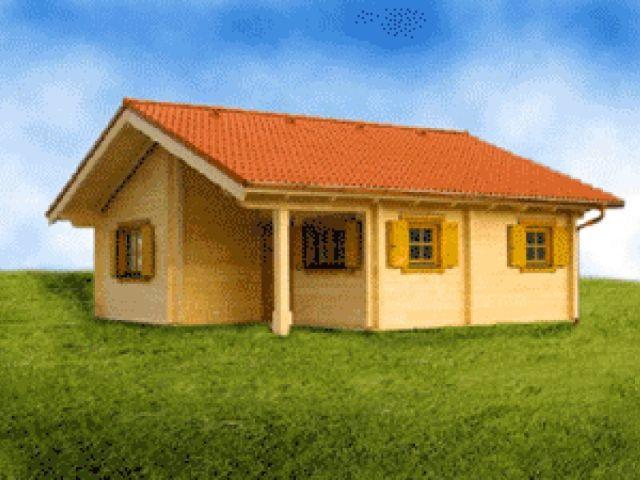 Blockhaus Prenzlau - Außenansicht 1