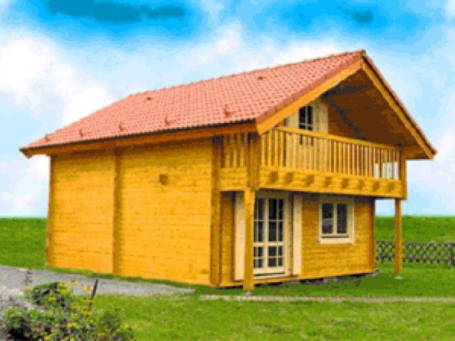 Blockhaus Rotenburg - Außenansicht 1