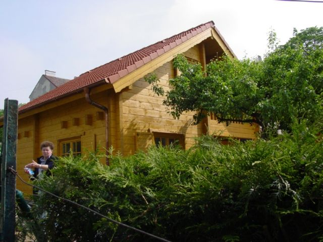 Blockhaus Schöneiche - Außenansicht 1