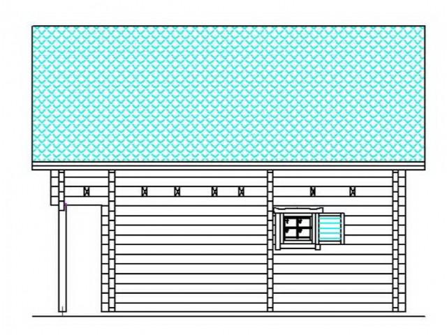 Blockhaus Schöneiche - Außenansicht 3