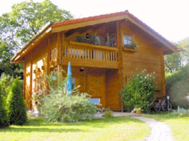 Blockhaus Waldblick - Außenansicht 1