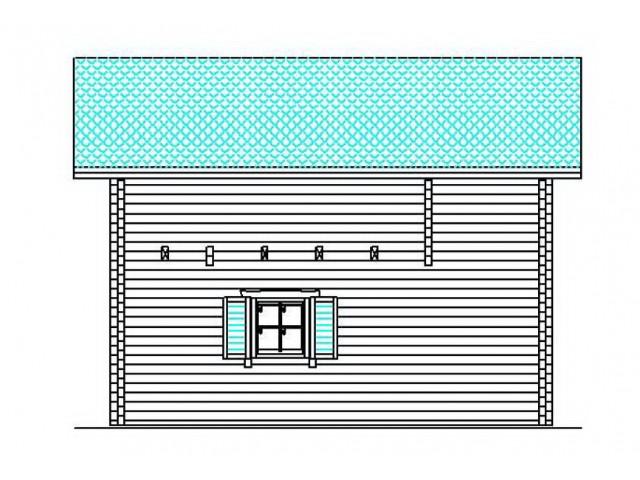 Blockhaus Waldblick - Außenansicht 3