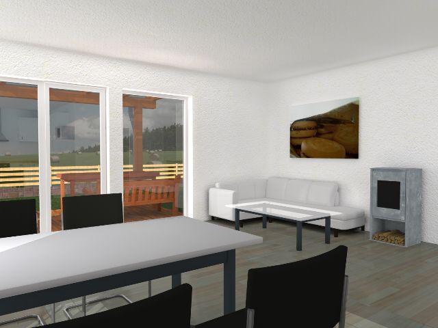 Bungalow 05 - Wohnbereich
