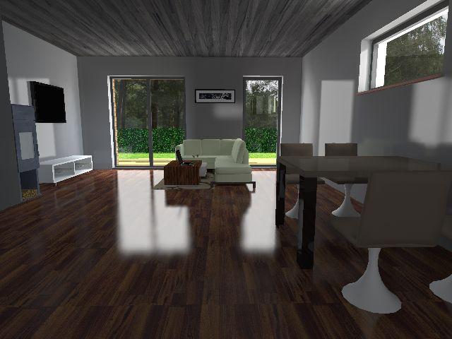 Bungalow 06 - Wohnbereich