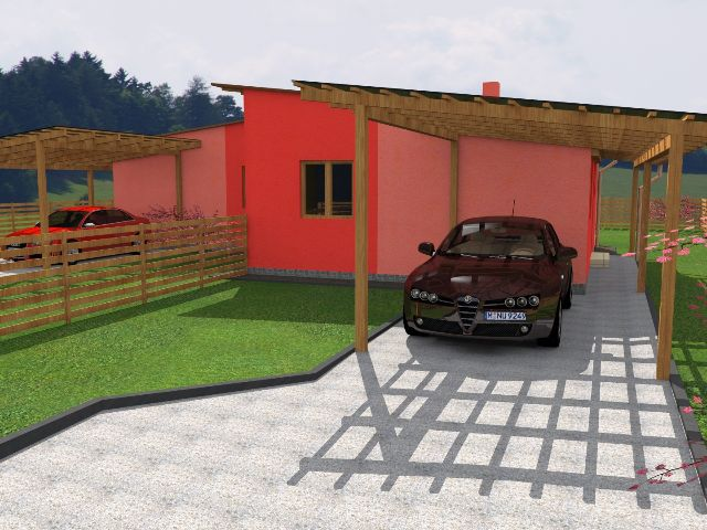 Doppelhaus 01 - Carport