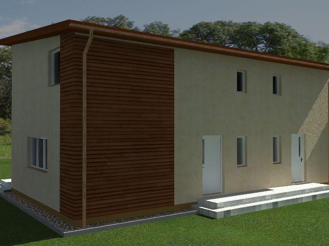 Doppelhaus 03 - Außenansicht