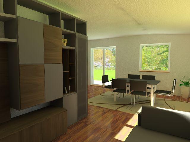 Doppelhaus 03 - Wohnbereich