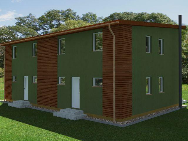 Doppelhaus 04 - Hauseingang