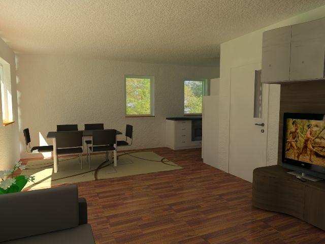 Doppelhaus 04 - Wohn- und Essbereich