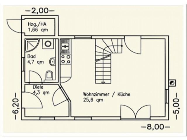 Einfamilienhaus Bella 04 - Grundriss EG