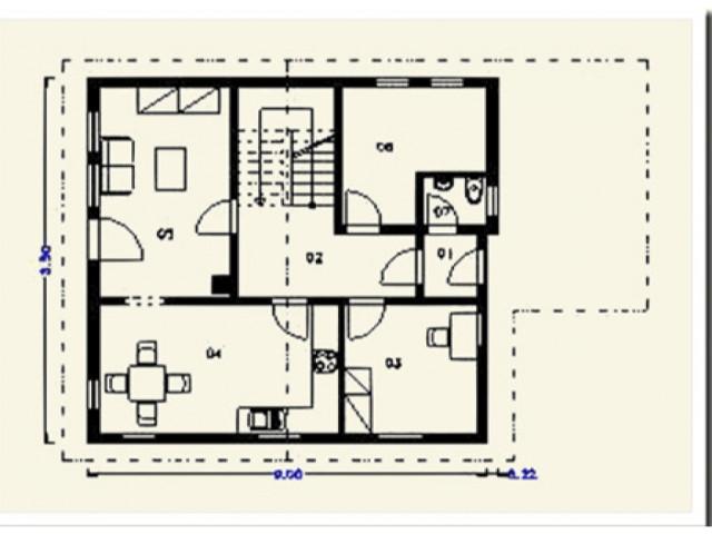 Einfamilienhaus Krone - Grundriss EG
