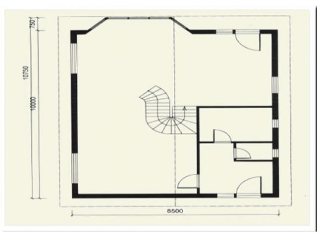 Einfamilienhaus Linda - Grundriss EG