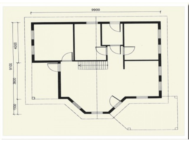 Einfamilienhaus Marie - Grundriss EG