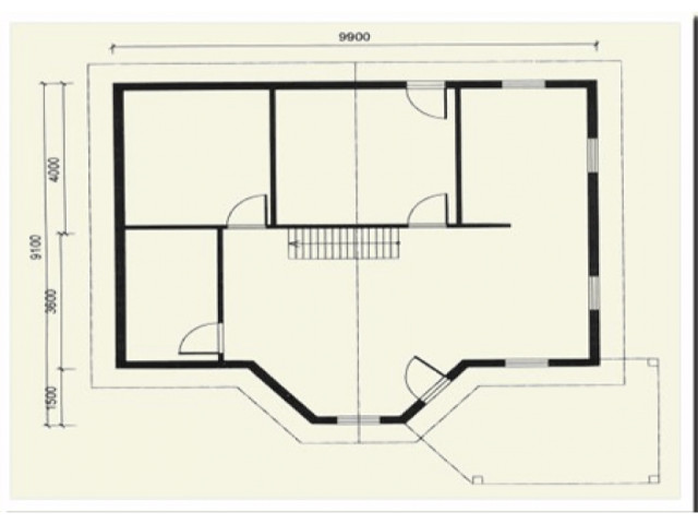 Einfamilienhaus Marie - Grundriss DG