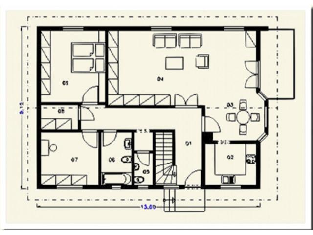 Einfamilienhaus Neuhof - Grundriss