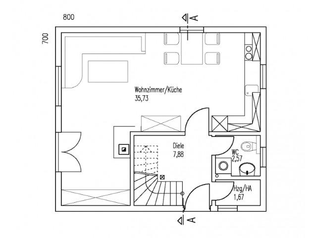 Einfamilienhaus St. Pölten 13 - Grundriss