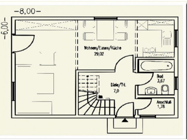 Einfamilienhaus St. Pölten 05 - Grundriss EG