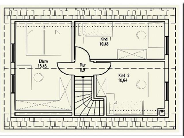 Einfamilienhaus St. Pölten 05 - Grundriss DG