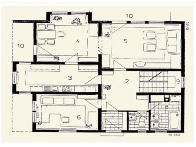 Einfamilienhaus Vega 01 - Grundriss EG