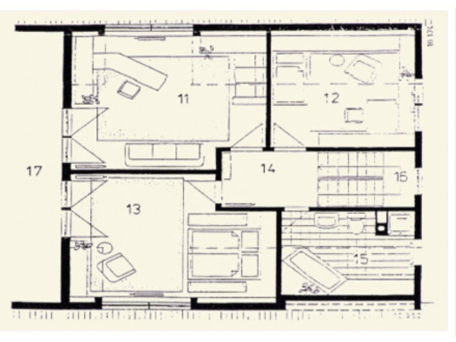 Einfamilienhaus Vega 01 - Grundriss DG