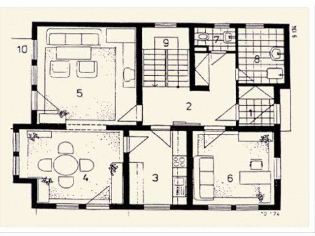 Einfamilienhaus Vega 02 - Grundriss EG