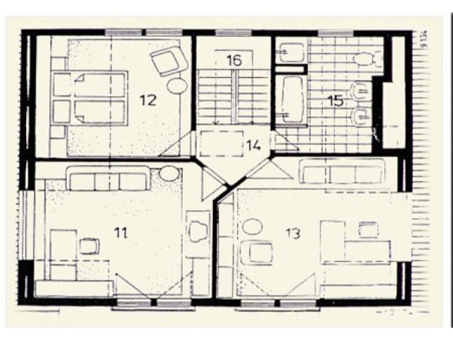 Einfamilienhaus Vega 02 - Grundriss DG