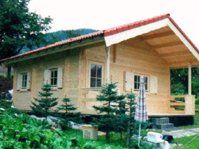 Blockhaus Alm - Außenansicht 1
