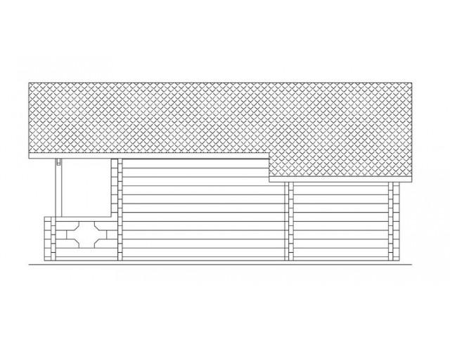 Blockhaus Alm - Außenansicht 4