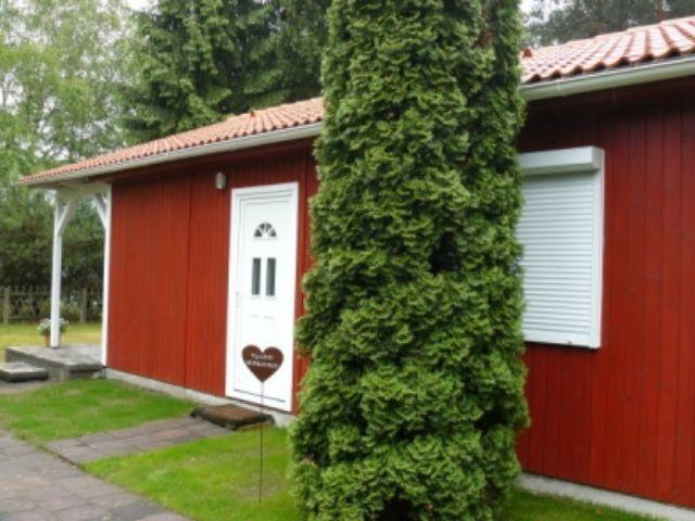 Ferienhaus Bodensee 70 - Außenansicht seitlich