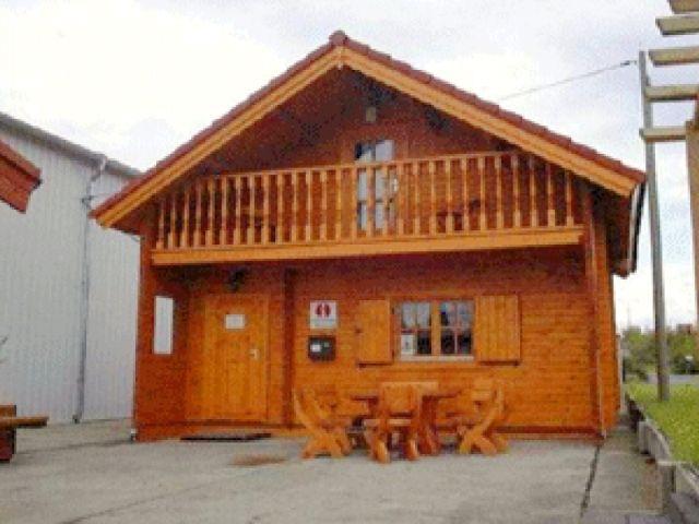 Blockhaus Heide - Außenansicht 1