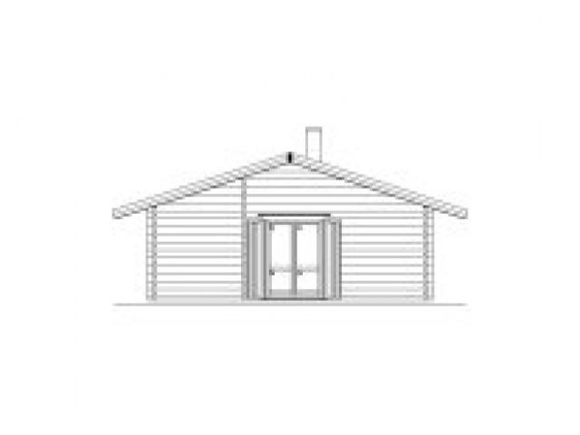 Blockhaus Hintersee - Außenansicht 2