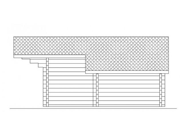 Blockhaus Schönberg - Außenansicht 5