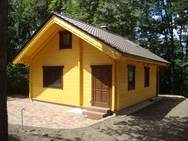Blockhaus Werbellin - Außenansicht 1