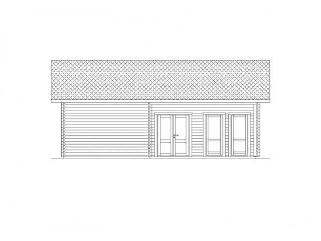 Blockhaus Zehlendorf - Außenansicht 2