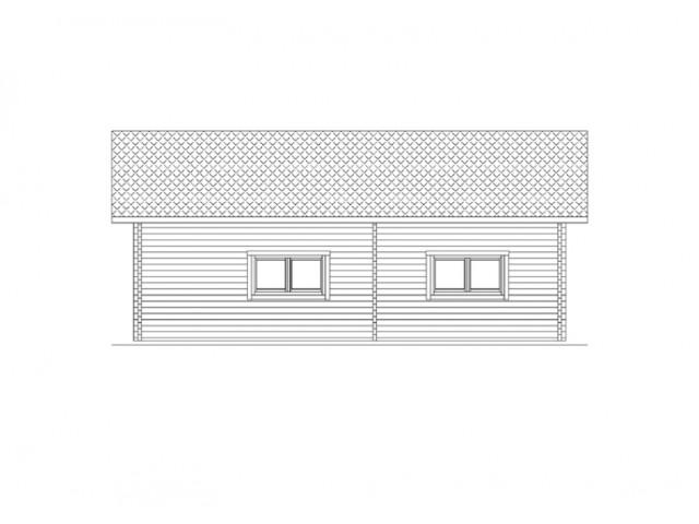 Blockhaus Zehlendorf - Außenansicht 3