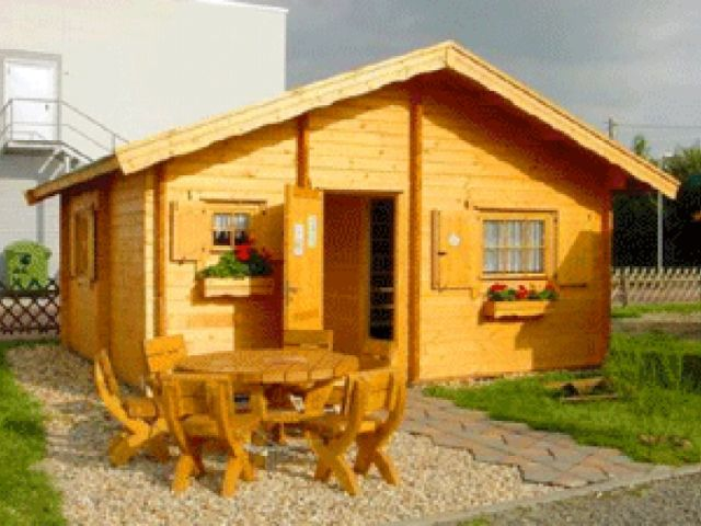 Gartenhaus Linde - Außenansicht