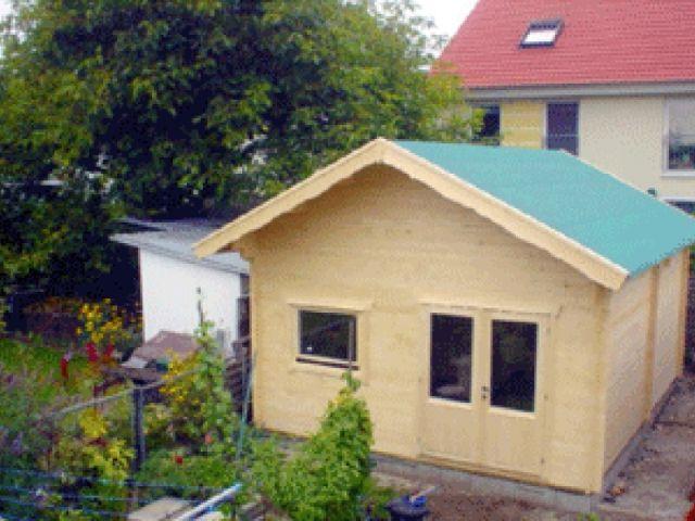Gartenhaus Moldau - Außenansicht