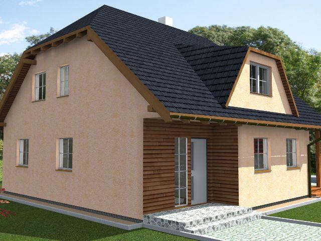 Einfamilienhaus Klassik 01 - Hauseingang